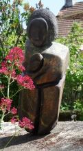 Sculpture : Vierge à l'enfant