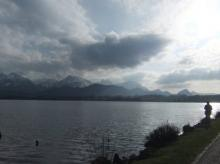 Lac nuageux